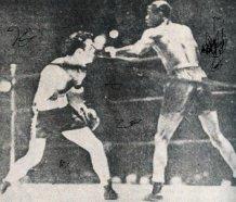 Photo of Cuban boxer Eligio Sardinas y Montalvo aka Kid Chocolate.