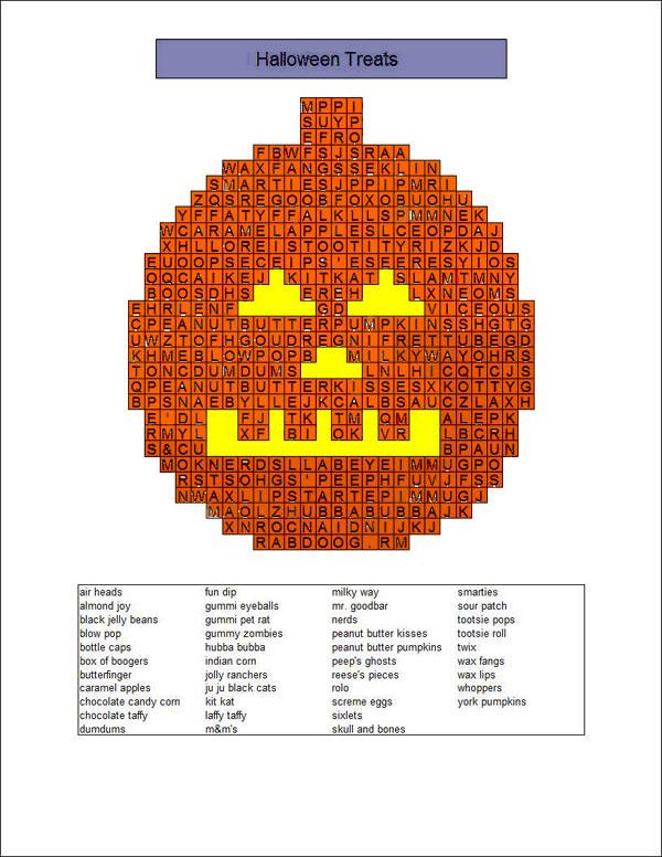 Halloween puzzle.