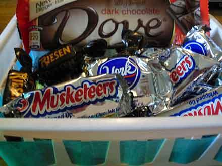 Homemade Gift Baskets Simple Cheap Chocolate Ideas