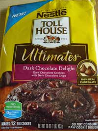 nestle toll house dark chocolate delight cookie doug