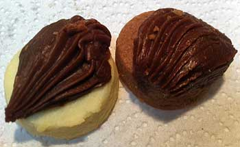 Thumbprint cookies from Slaton bakery