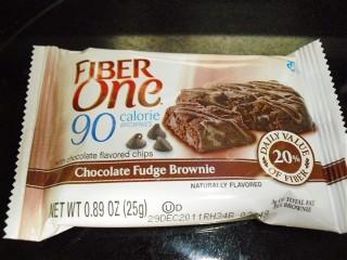 Fiber One brownie.